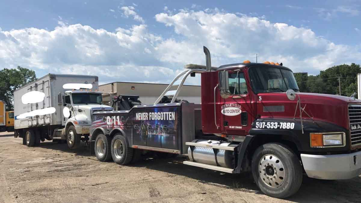 Heavy Truck Towing Rochester MN
