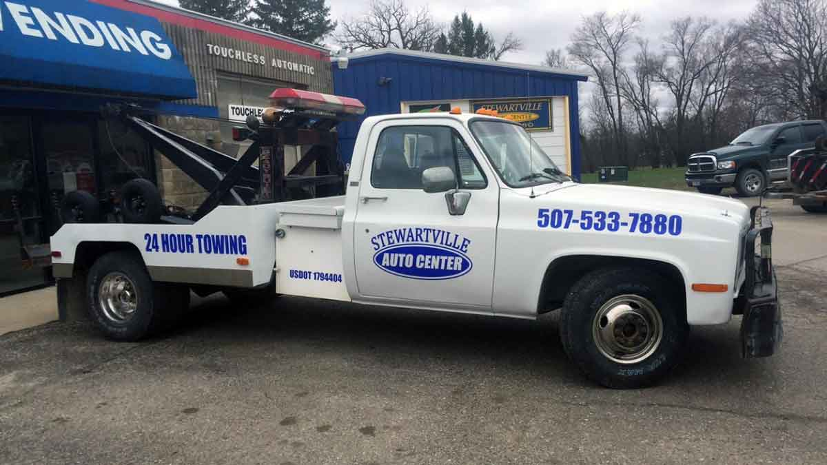impound towing Olmsted Co, MN